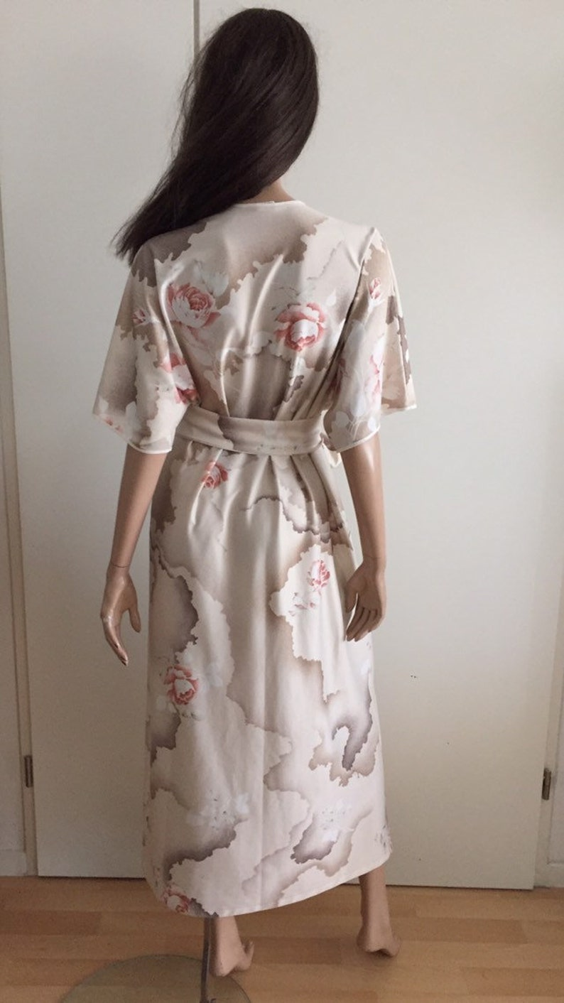 Bathrobe  kimono  CANAT dress Made in France size XL