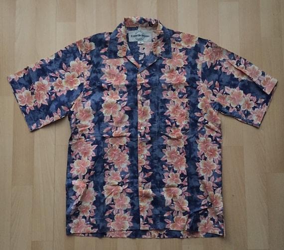 "Hawaiian Shirt /""Turtle/'s Paradise/"" size M-6XL Hawaiian Shirts 100/% cotton"