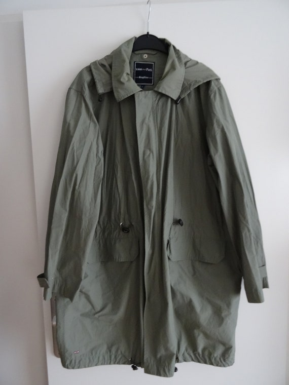 EDEN PARK rugline khaki waterproof parka size XL - windbreaker long