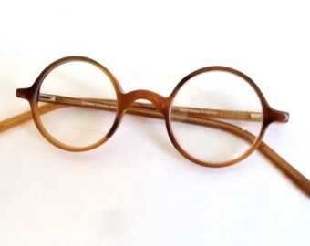 9d869c7fa3 Dolabany Round Thick Horn Rimmed Eyeglasses