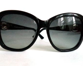 3244f6ef71f CARTIER Panthere Oversized Black Sunglasses