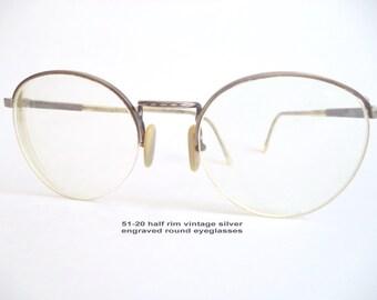 9994bcb7e69 Retro Lennon Round Eyeglasses