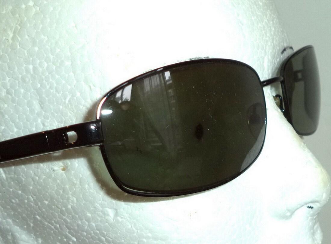 0a91aa105b Lamborghini Tonino Black Metal Sports Sunglasses Lamborghini