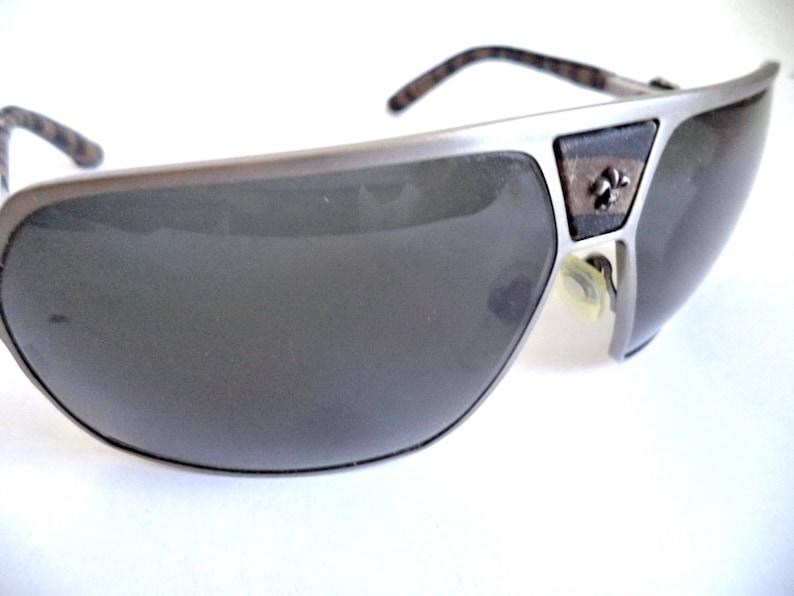 be51250ecb4 Chrome Hearts Vintage Unisex Aviators Wrap Sunglasses Chrome