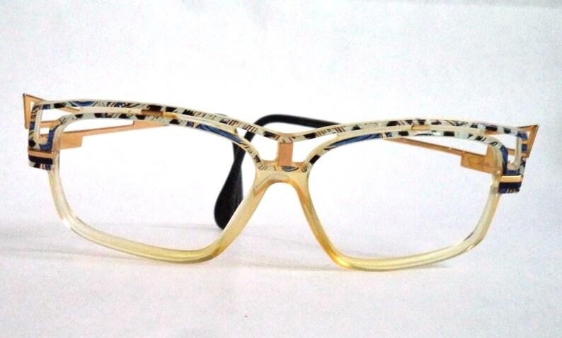558ccb199c5b CAZAL 365 Zalloni Marbled Eyeglasses Sunglasses 80s horn rim