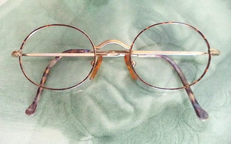 4b73be630a Giorgio Armani wire rim gold round Eyeglasses 47-20 Unisex