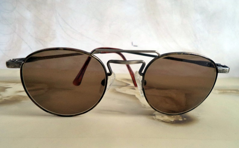 70f67dca8eb Vintage BHPC round lennon eyeglasses sunglasses Gunmetal