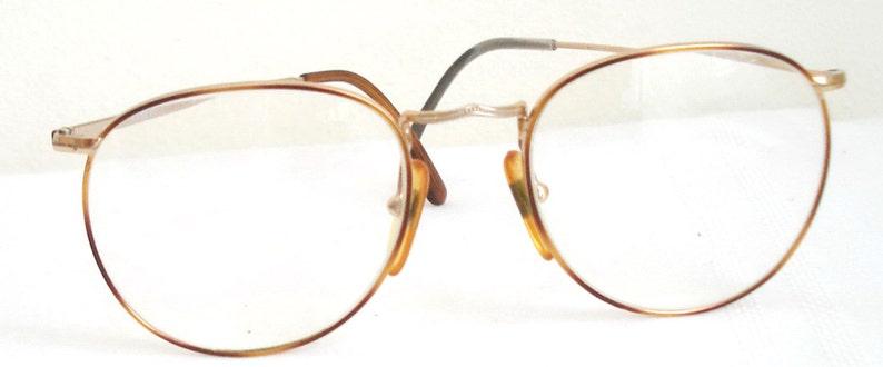 2446497ad8 60s Lennon Round Gold wire rim Eyeglasses Retro Round