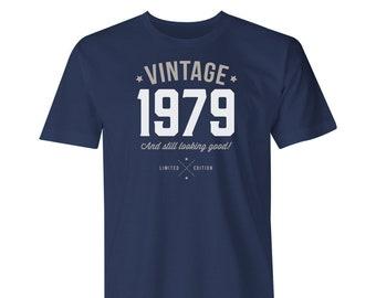 40th Birthday, 1979 Vintage, Great 40th Birthday Present, 40th Birthday Gift. 1978 Birthday, Look Good on Your 40th Birthday!