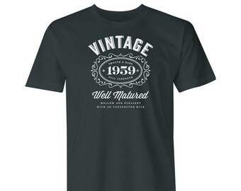 60th Birthday 1959 Gift Shirt For An 60 Year Old Idea Great Present