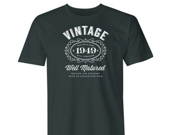 70th Birthday 1949 Idea Gift Mens T Shirt For The Lucky 70 Year Old