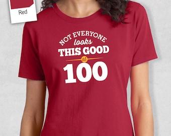 100th Birthday Idea Great Present Gift 1918 Shirt Crew Neck