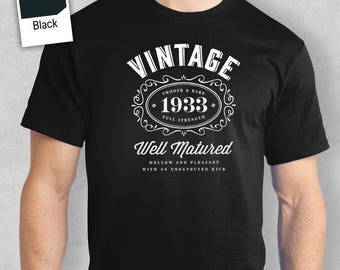 85th Birthday 1933 Idea Great Present Gift Shirt For A 85 Year Old
