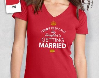 Mom of The Bride, Personalized Brides Mom Shirt, Mother of the Bride, Wedding Shirt or Brides Mom Gift, Engagement, Funny Wedding Shirt!