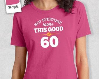 60th Birthday, 60th Birthday Idea, Great 60th Birthday Present, 60th Birthday Gift. 1958 Birthday, 60th Birthday Shirt, Women's Crew Neck!