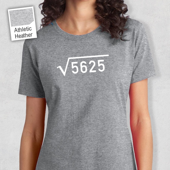 75th Birthday 1943 Square Root 5625 Looking Good