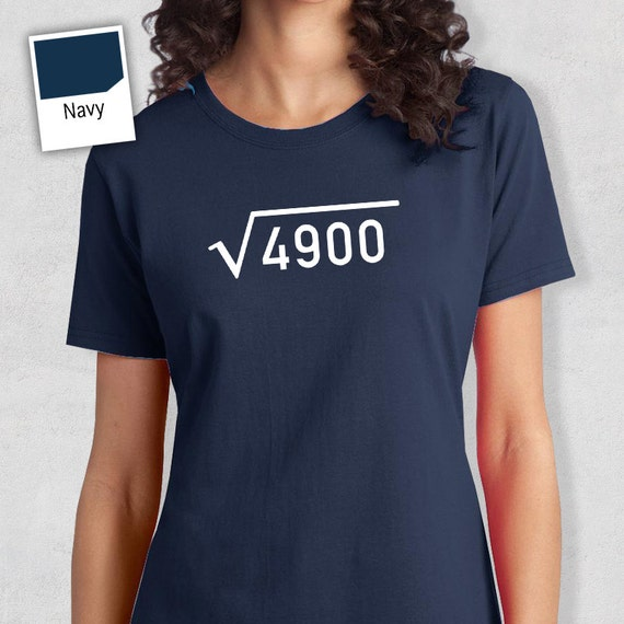 70th Birthday 1948 T Shirt Square Root Born In