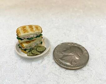 1:6 Scale Tuna Fish Sandwich Miniature For Barbie
