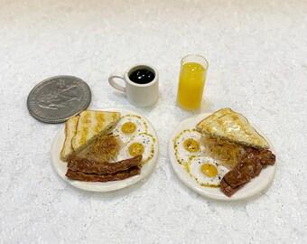 1:6 Scale Breakfast Set Miniature For Barbie