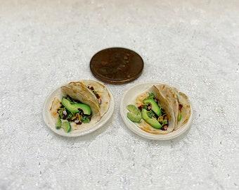 1:12 Scale Miniature Tacos