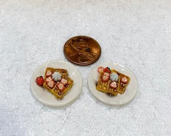 1:12 Scale Miniature Waffles