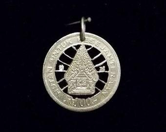 Indonesian Cut Coin