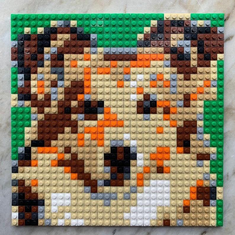 Dog brick puzzle boxset Size 26x26 cm Welsh Corgi