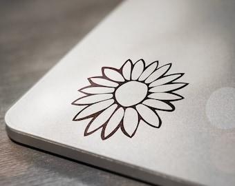 Flower Laptop Decal Sticker