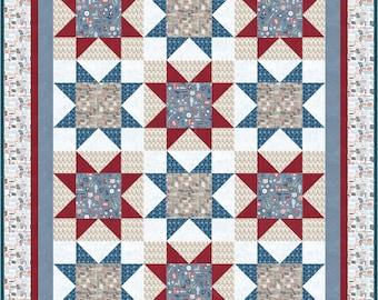 Star Stacks Quilt Pattern