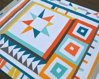 Wonk Around the Block pattern