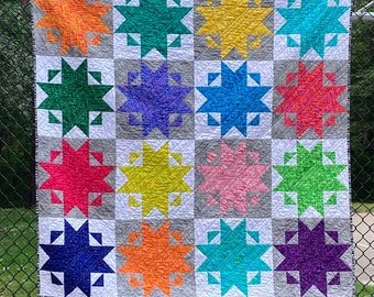 Star Bows quilt pattern