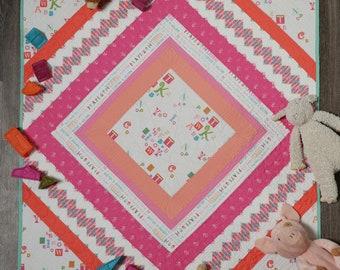 Rhombi Quilt Pattern