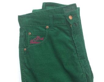 NUOVA linea uomo velluto a coste Cord Cotone Formale Casual Pant Pantaloni Con Cintura Taglia 30-50