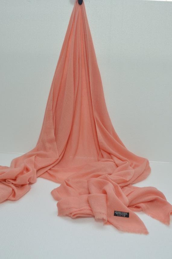 Sky Blue Cashmere Scarf Shawl Stole Wrap Throw 100/%Pashmina Nepalese Handmade