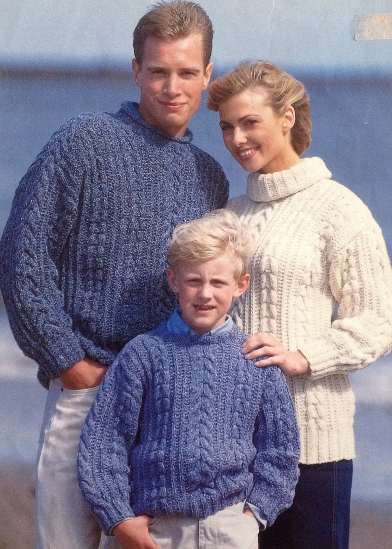 67496a9e9f2258 Knitting Pattern Girls  Boys  Ladies  Woman s   Mens