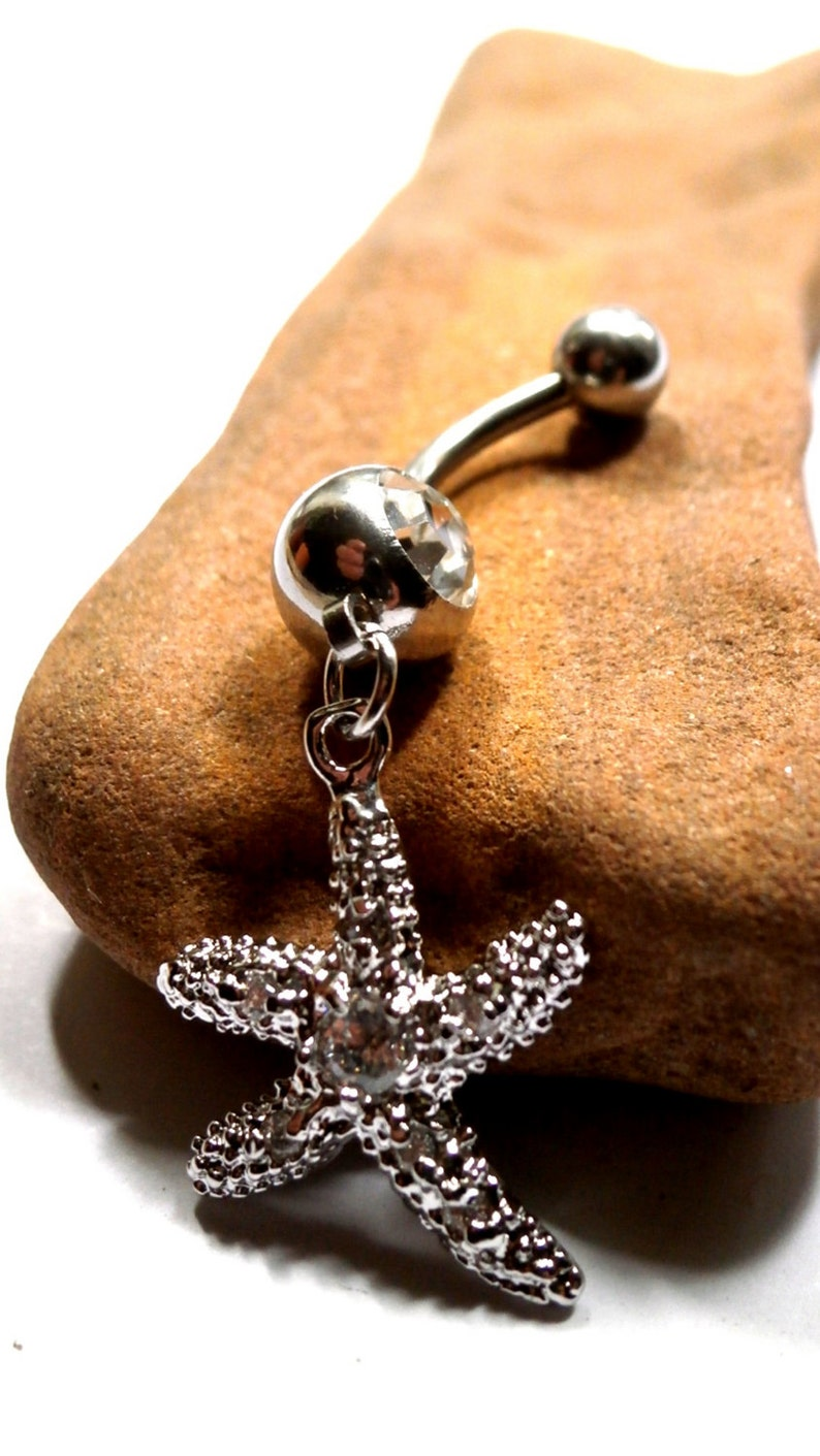 Stainless Steel earring body piercing Women Navel