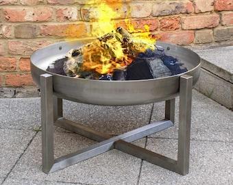 Steel Fire Pit Quadra (63cm diameter)