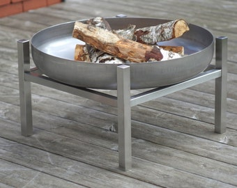 Stainless Steel Fire Pit Crate (Tall)