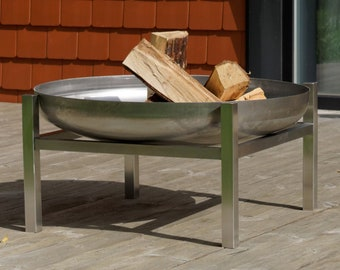 Stainless Steel Fire Pit Crate (79cm diameter)