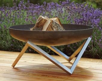Steel Fire Pit YANARTAS (79cm diameter)