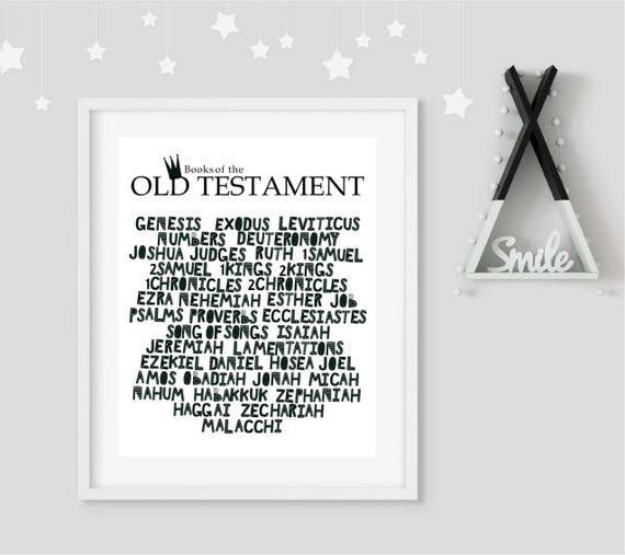 photo regarding Printable Books of the Bible List known as Scandinavian artwork, nursery artwork, wall artwork, Bible, Christian, Previous Testomony,Textbooks of the Bible, Genesis,Printable art