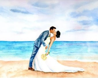 Unique Wedding gift for couple, Custom Watercolor Painting, personalize wedding venue photo, Couples gift, LGBT Gay, Commission, Church art