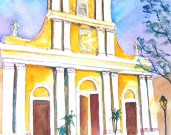 584aba63f03 RESERVED for Stephanie ORIGINAL Watercolor