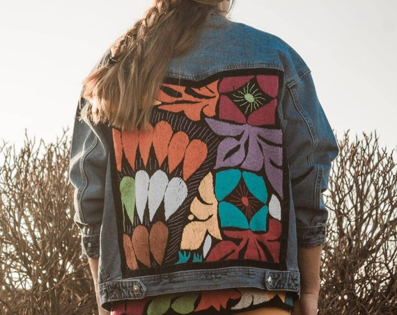 Diaz Oversized Jalapa Cowgirl Jacket