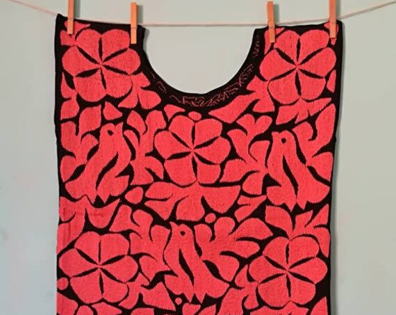 top *HUIPIL* JALAPA FLOWERS one size (s-m)