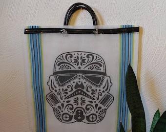beach bag *DARTH VADER *Starwars fan, starwars bag, shopping bag, mesh bag, market bag, plastic bag, tote beach bag,reusable bag,mexican bag