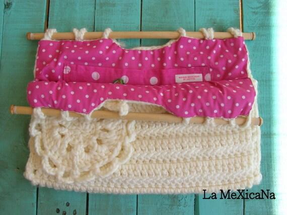 women's bag, CROCHET BAG, off-white bag, handmade bag, wool bag, crocheted bag, wooden handle bag, winter bag