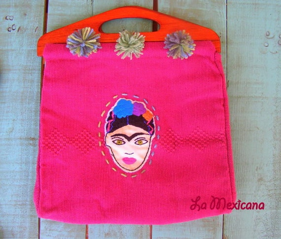 Oliva bag pink flowers