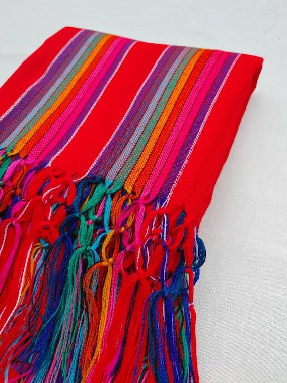 Unisex * REBOZO * rainbow scarf, bohemian pashmina, baby sling, doula shawl, Hypnobirthing, matron scarf, Mexican shawl, ethno shawl