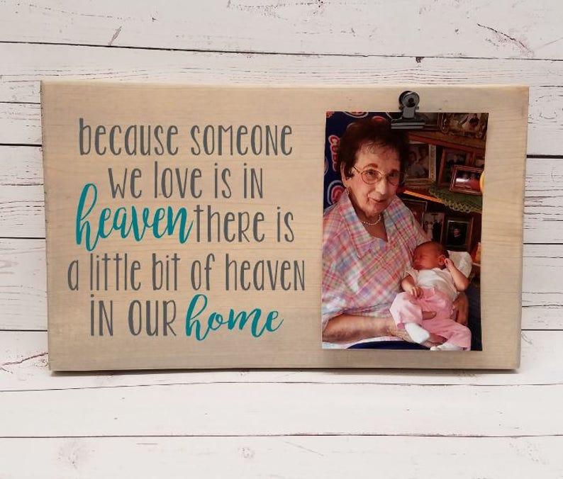Because Someone we Love is in Heaven in our home Picture image 0